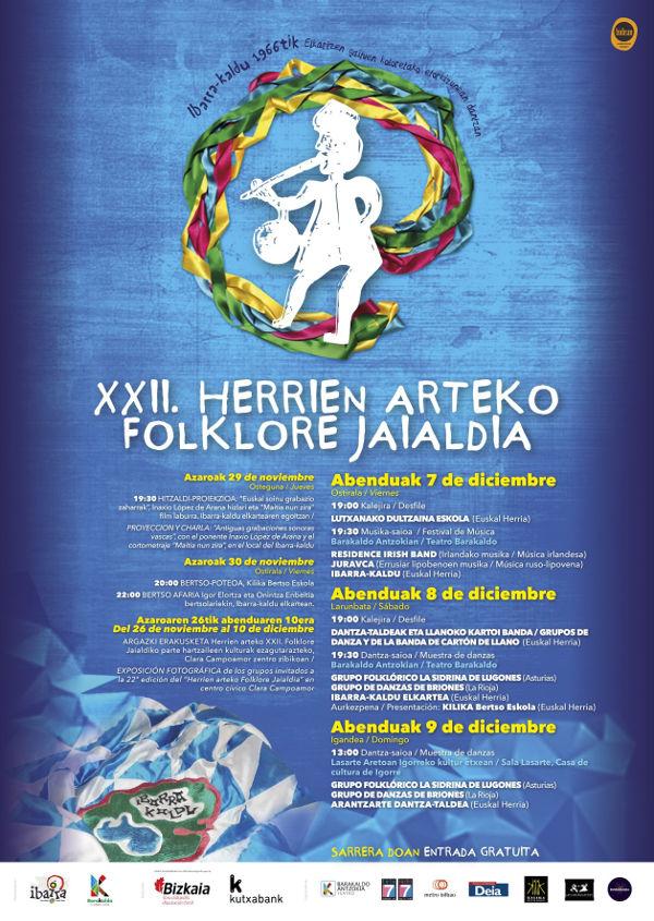 Herrien arteko XXII. Folklore Jaialdia