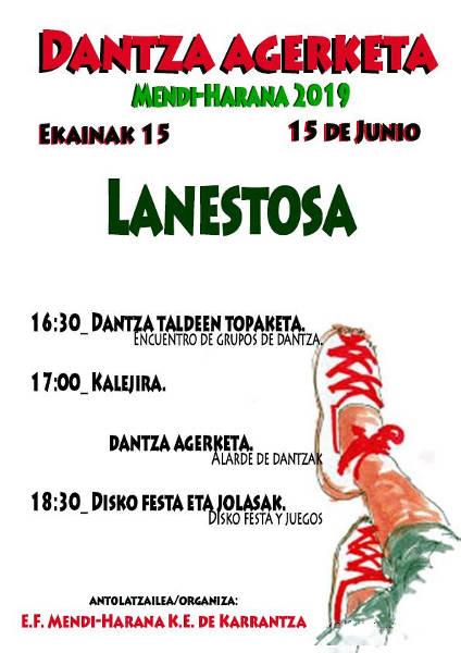 2019 Dantza Agerketa Lanestosan