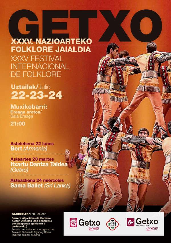 35 Festival Internacional Folklore de Getxo